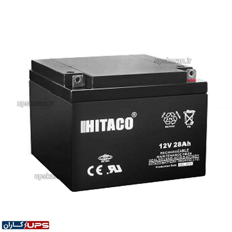 باتری یو پی اس هیتاکو 28 آمپر