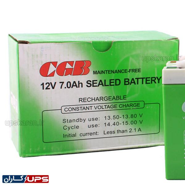 باتری یو پی اس 12 ولت 7 آمپر سی جی بی