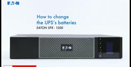 تعویض باتری یو پی اسEaton px-1500