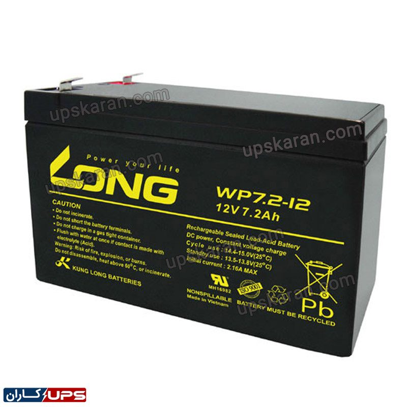 باتری یو پی اس لانگ 12 ولت 12 آمپر