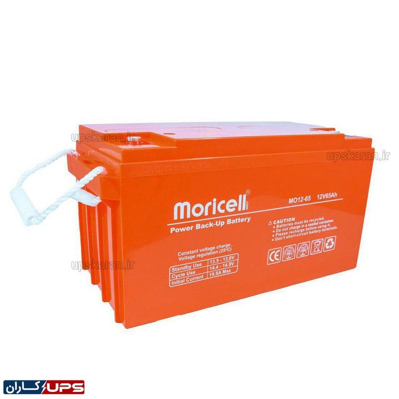 باتری یو پی اس 12 ولت 65 آمپر موریسل