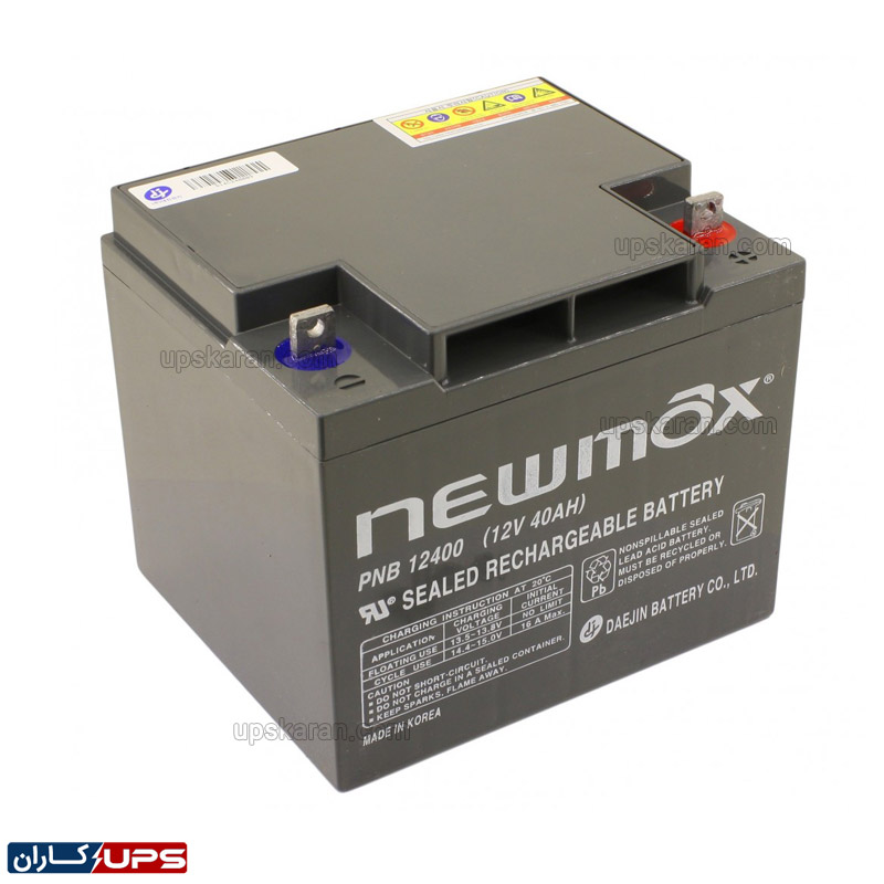 باتری یو پی اس 40 آمپر نیومکس