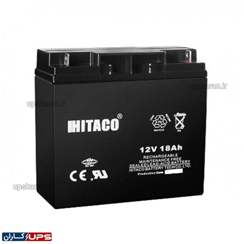 باتری یو پی اس ۱۲ ولت ۱۰۰ آمپر هیتاکو