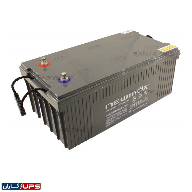 باتری یو پی اس ۲۰۰ آمپر نیومکس