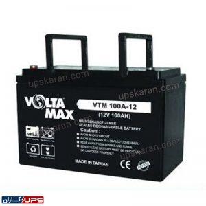 باتری یو پی اس 12 ولت 100 آمپر ولتامکس