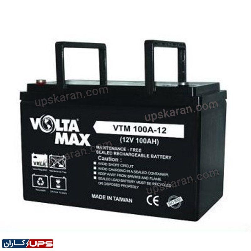 باتری یو پی اس ۱۲ ولت ۱۰۰ آمپر ولتامکس