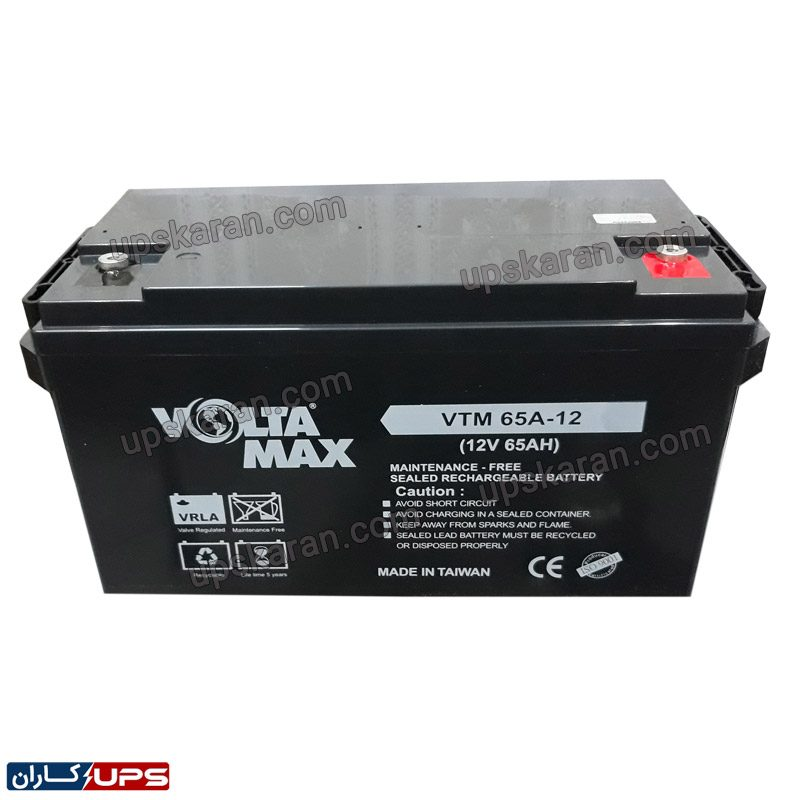 باتری یو پی اس ۱۲ ولت ۲۸ آمپر ولتامکس – ۰۳