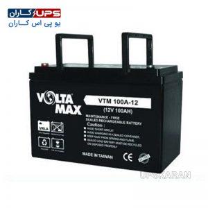باتری 12 ولت 100 آمپر ولتامکس