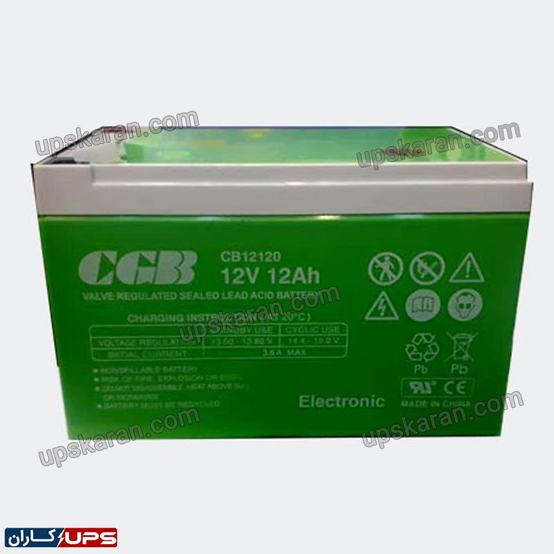 باتری یو پی اس سی جی بی 12 آمپر