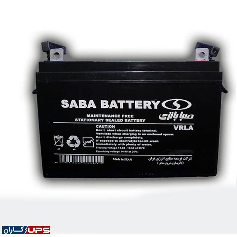 باتری یو پی اس 12 ولت 100 آمپر