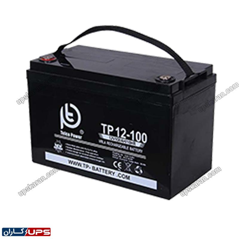 باتری تلکوپاور 100 آمپر