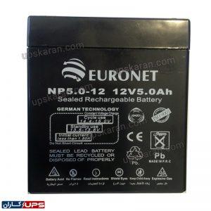 باتری یو پی اس یورونت 5 آمپر