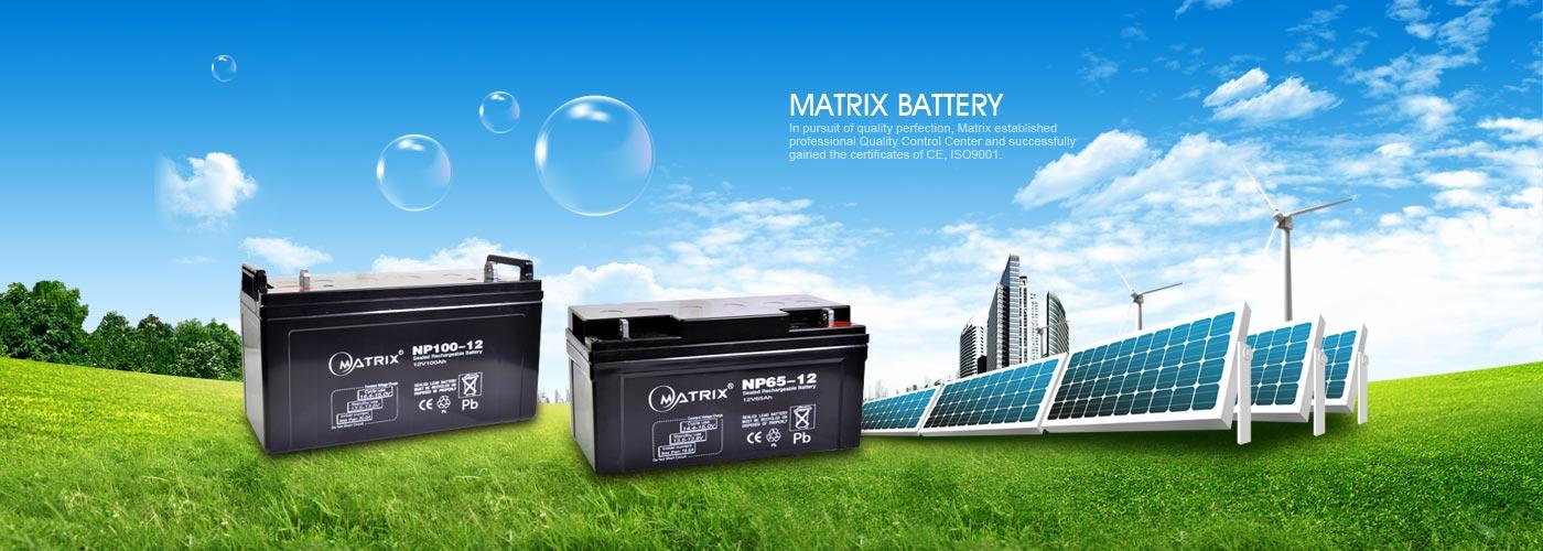 باتری ماتریکس در پنلهای خورشیدی