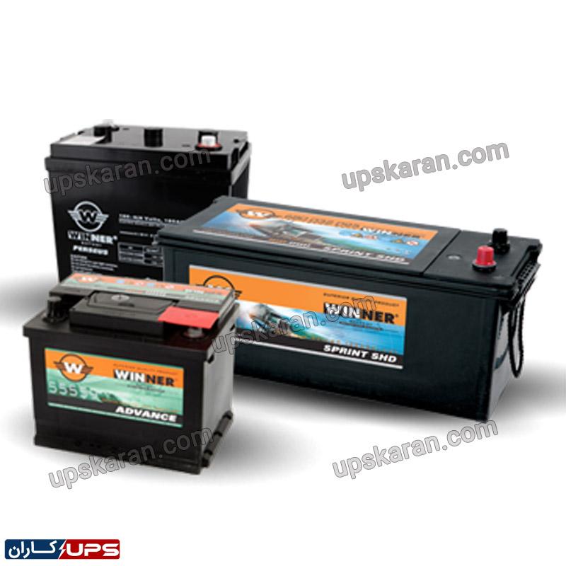 باتری یو پی اس 12 ولت 12 آمپر وینر