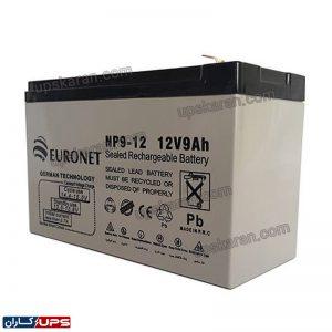باتری یو پی اس یورونت 9 آمپر