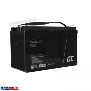باتری یو پی اس 100 آمپر گرین سل 003