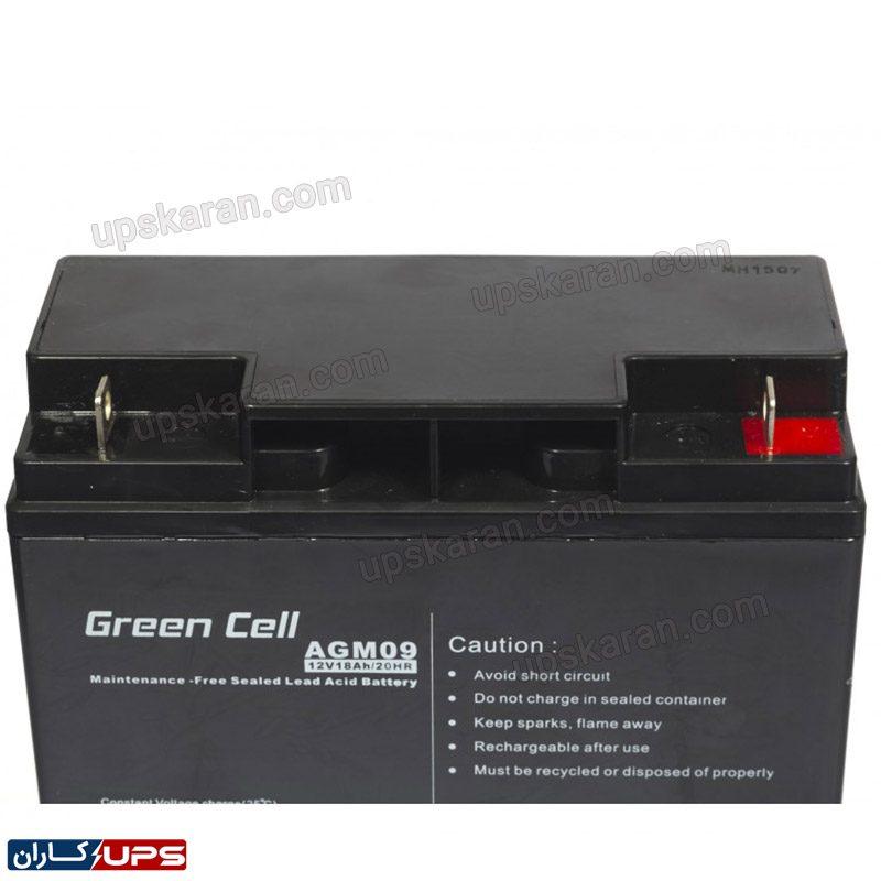 باتری 18 آمپر گرین سل 002