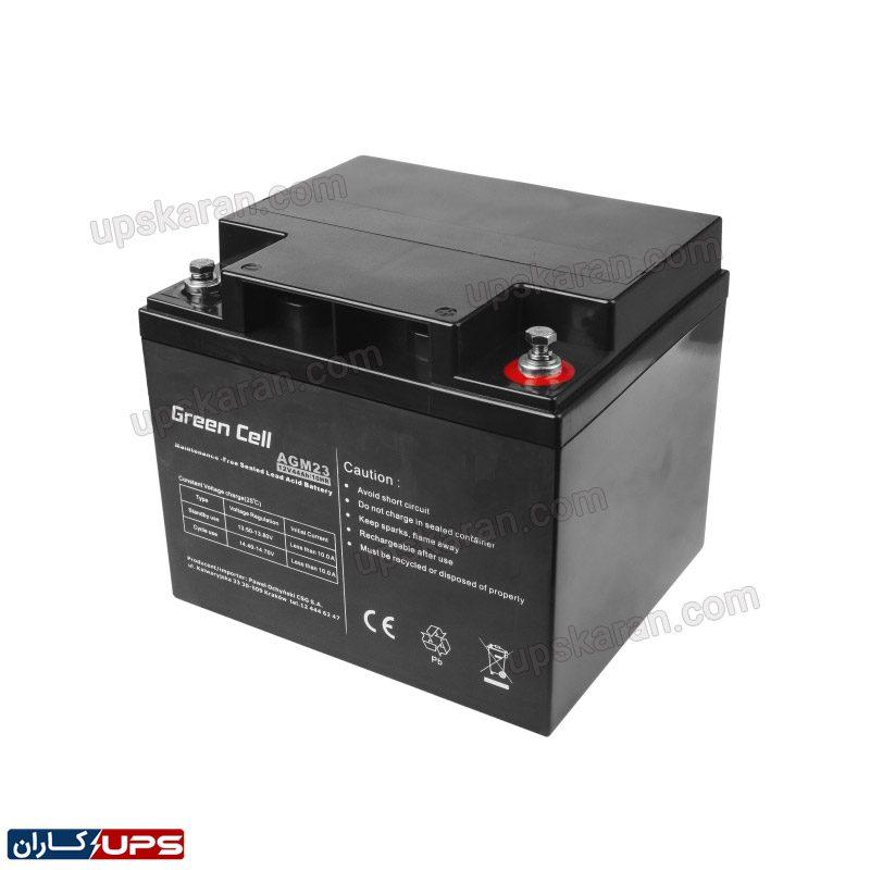 باتری 44 آمپر گرین سل 01