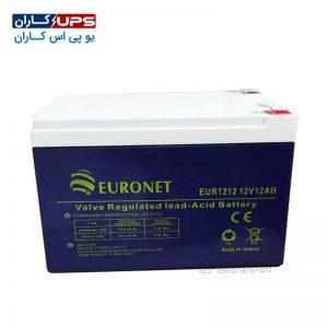 باتری 12 ولت 12 آمپر یورونت