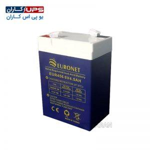 باتری 12 ولت 4.5 آمپر یورونت
