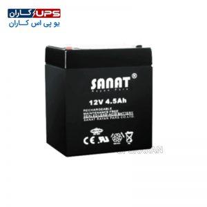باتری 12 ولت 4.5 آمپر صنعت